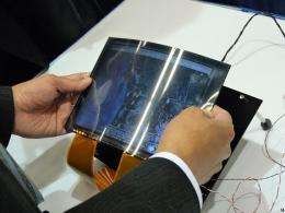 Toshiba LCD Panel Zooms In-and-Out By Bending It (w/video)