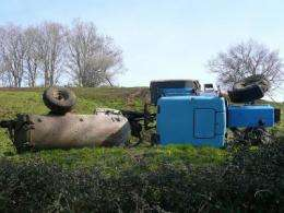 Tractors rolling over is top cause of agricultural deaths