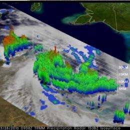 TRMM measures Cyclone Paul's rainfall from space