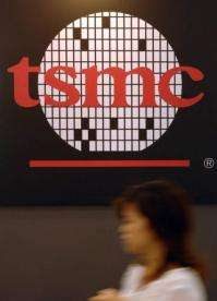 TSMC Thursday broke ground on a light-emitting diode plant