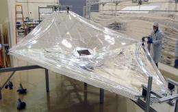 Turning up the heat: Finding out how well the Webb telescope's sunshield will perform