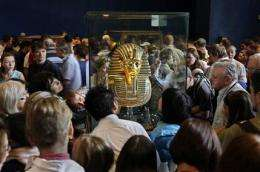 Tut's ills won't kill fascination, historians say (AP)