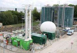 UK town using fuel from human waste
