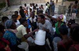 UN appeals for $164M to combat Haiti cholera (AP)