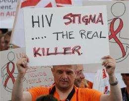 UN expert: AIDS crisis in the world's prisons (AP)