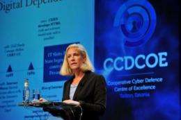 US acting senior director for Cyberspace for the National Security and Homeland Security Councils, Melissa Hathaway