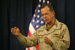 "US Admiral Mike Mullen urged WikiLeaks to stop its ""extremely dangerous"" release of documents"