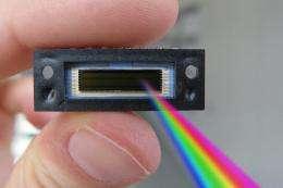 UV-transparent coating for image sensors