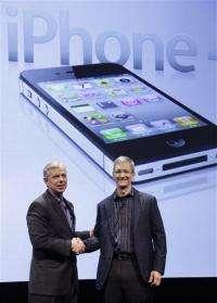 Verizon to start selling iPhone on Feb. 10 (AP)
