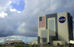 View of the Kennedy Space Center in Florida
