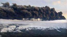 Volcanic ash affects airplanes, weather, sunsets (AP)
