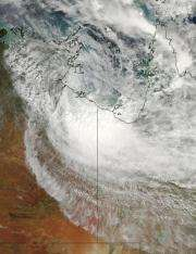Warnings dropped for ex-cyclone Paul as NASA satellites see it fizzle