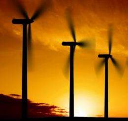 Wind resistance: Analysis suggests generating electricity from large-scale wind farms could influence climate