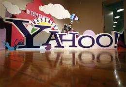 Yahoo shares rise on buyout talk (AP)