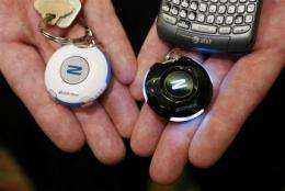 Zomm hopes wireless tether can prevent lost phones (AP)