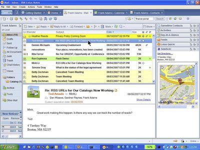 IBM Ships Lotus Notes and Domino 8