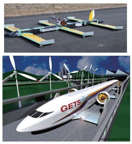 2011 05 Ground Effect Plane Train Flies Inches Ground on robotic trains