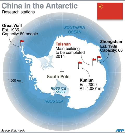 China to build two new Antarctic bases