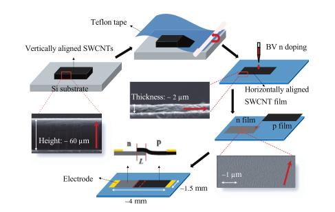 Team uses carbon nanotubes for polarized-light detection