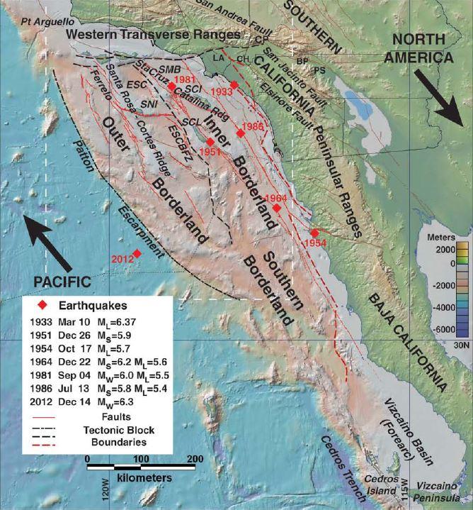 Little known quake tsunami hazards lurk offshore