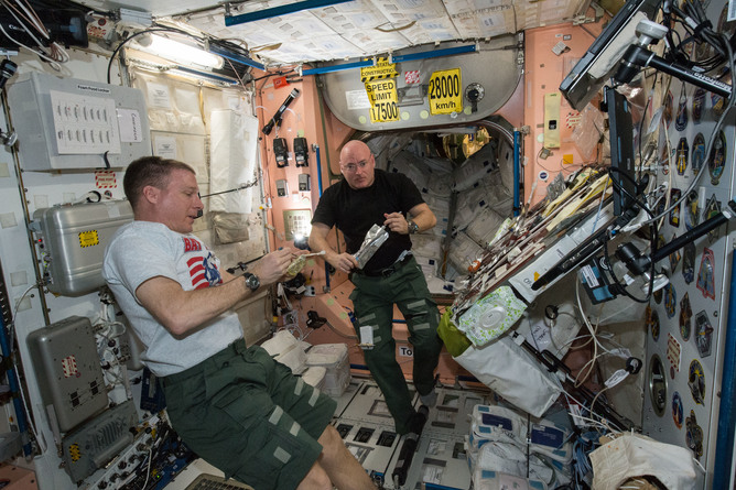 Why the International Space Station is riddled with 'germs'