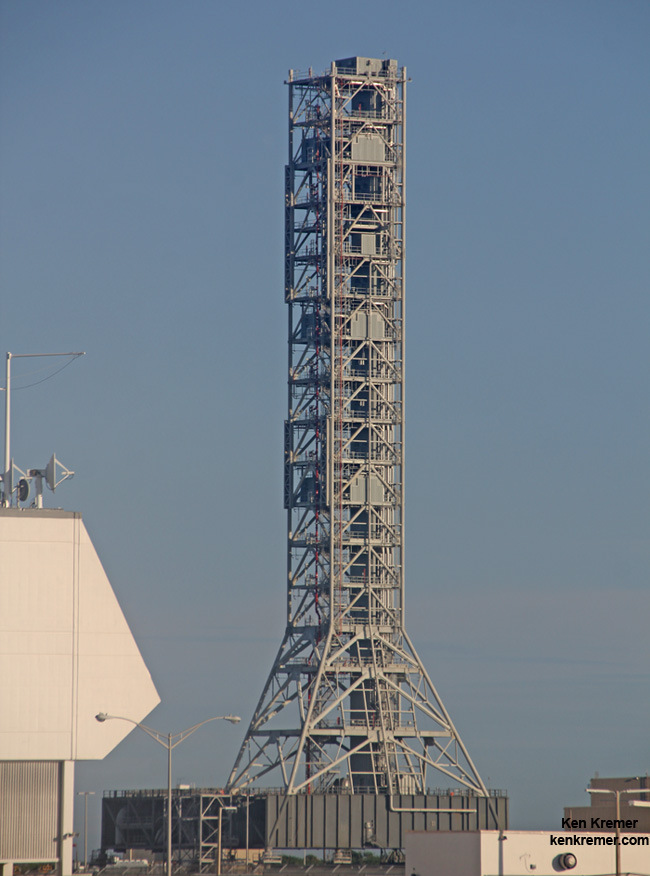 Mobile launcher upgraded to launch NASA's mammoth 'Journey ...