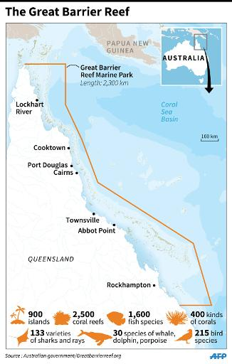 Australia confident great barrier reef not in danger an area of 348000 square kilometres off australias east coast and contains some 2500 individual reefs was listed as a world heritage site in 1981 gumiabroncs Choice Image