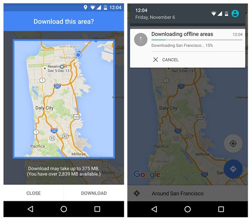 Google maps offers offline option when internet is spotty gumiabroncs Gallery