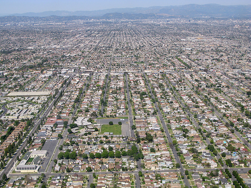 urban sprawl In just 15 years, between 1982 and 1997, the amount of urban and built-up land in the united states grew by almost 40 percent - two and one-half times faster than the population more than half of that growth took place recently in the five years between 1992 and 1997 american cities seem to be.