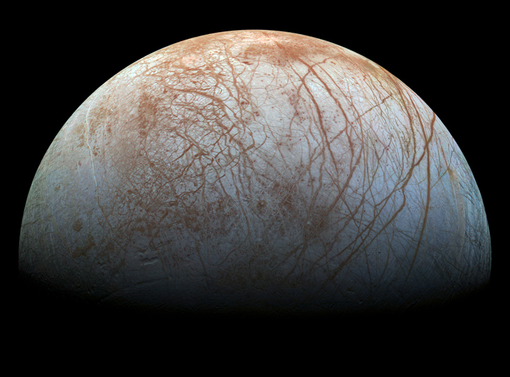 Jupiter's moon Europa on nasa moon map, europa moon map, titan moon map, venus map, mars with oceans map, triton moon map, high resolution moon map, topographic moon map, colonized moon map, moon texture map, national geographic moon map,