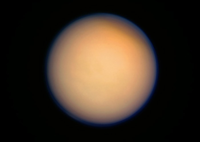 Saturn S Moon Titan