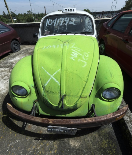 in mexico city once beloved vw beetle is nearly extinct