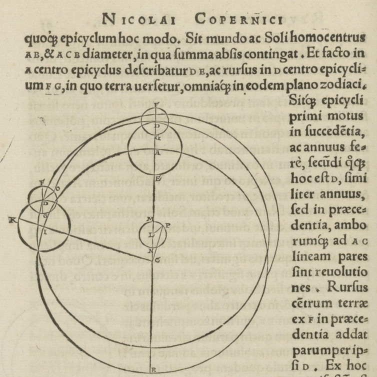 Copernicus' revolution and Galileo's vision: Our changing ...