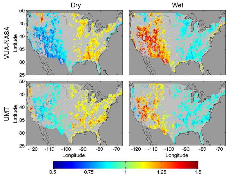 Research Connects Soil Moisture To Next Day Rainfall