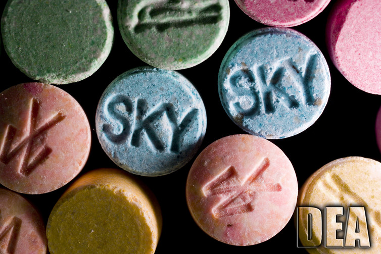 the mdma being used to treat trauma is different from the street