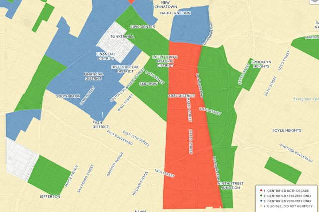 Worksheet. map the gentrification effects of transportation projects on low