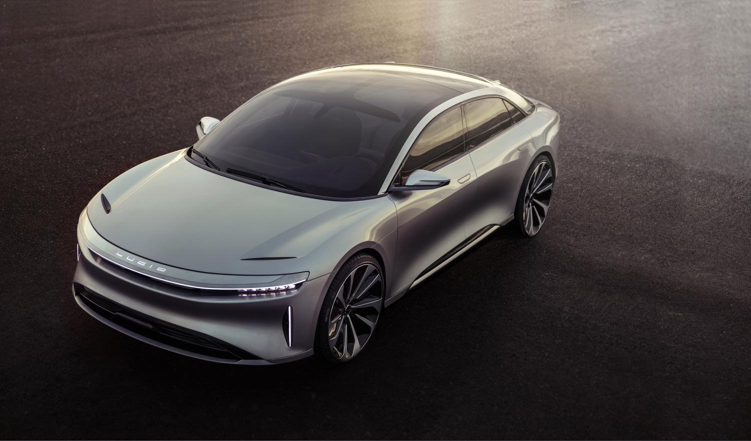 Electric Car Fever Heat Rises At Unveiling Of Lucid Air Watch For 2018