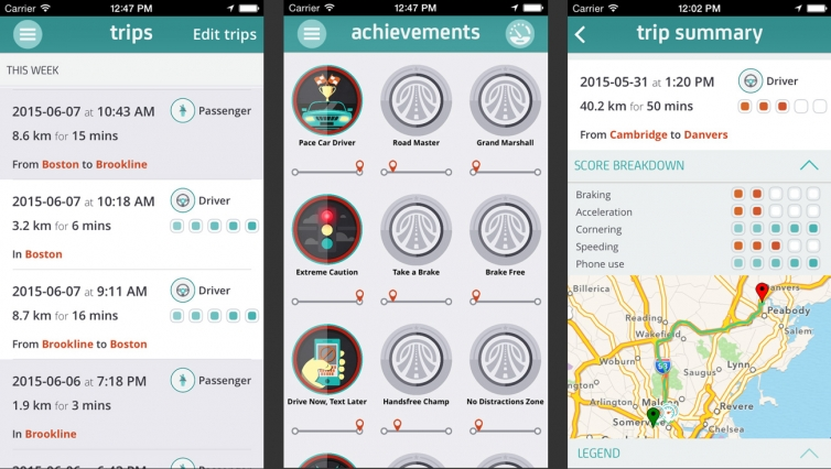 App that rates drivers\' behavior yields promising safety results on ...