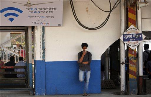 Mumbai Travelers Log On As Google Starts Train Station Wi Fi