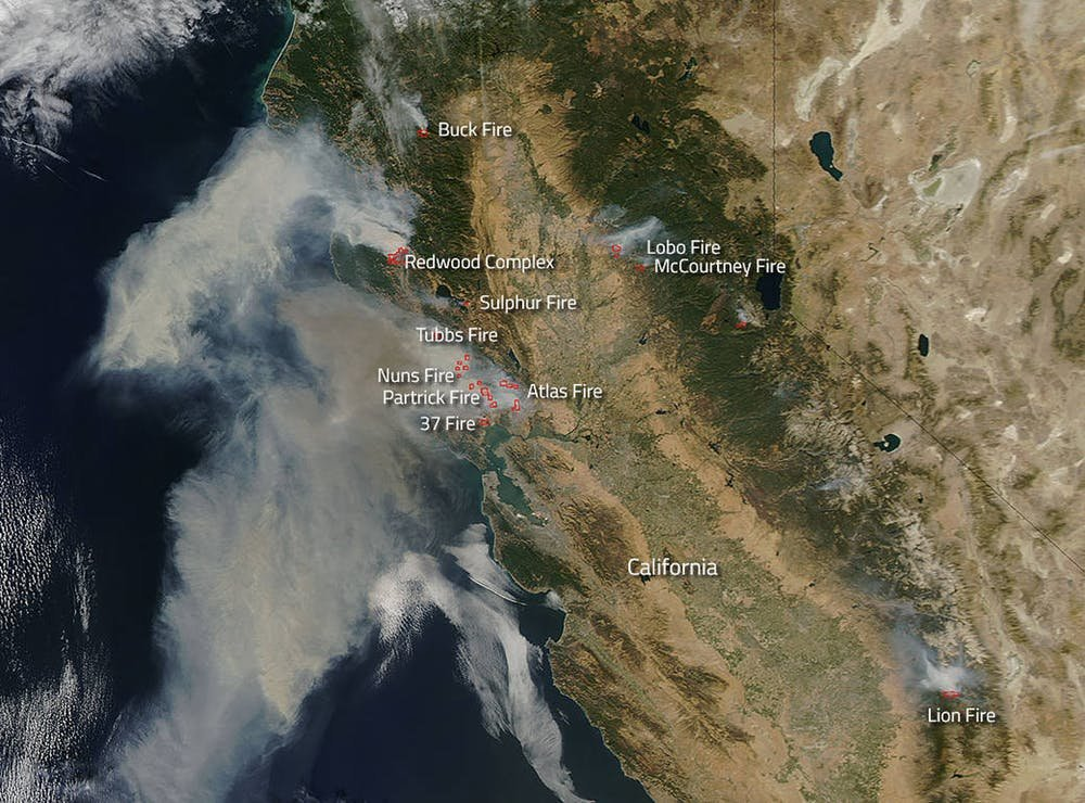Current Fire Map Sonoma County.Why Were California S Wine Country Fires So Destructive
