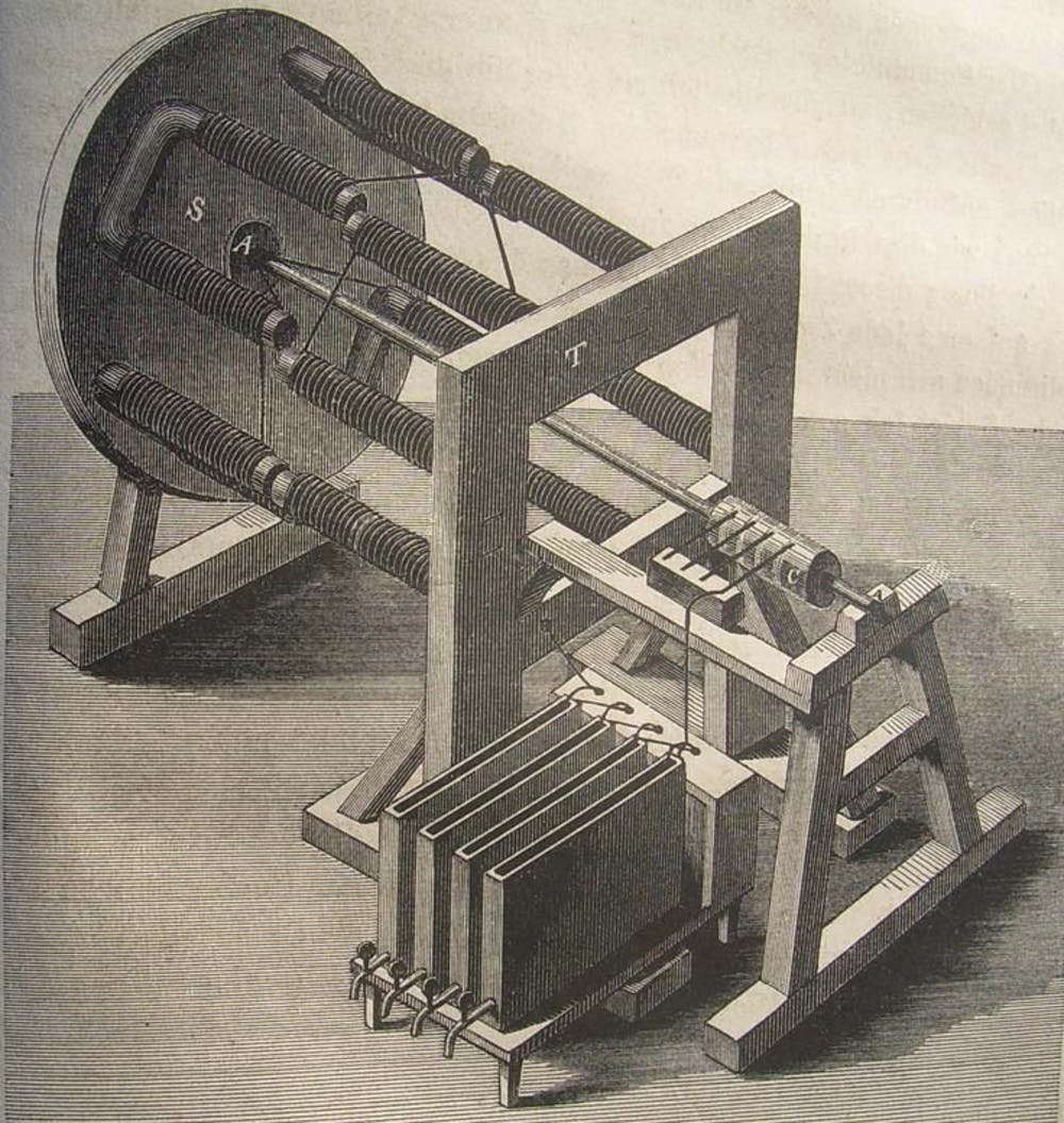 How a victorian lawyer from wales invented the hydrogen for Who invented the electric motor in 1873