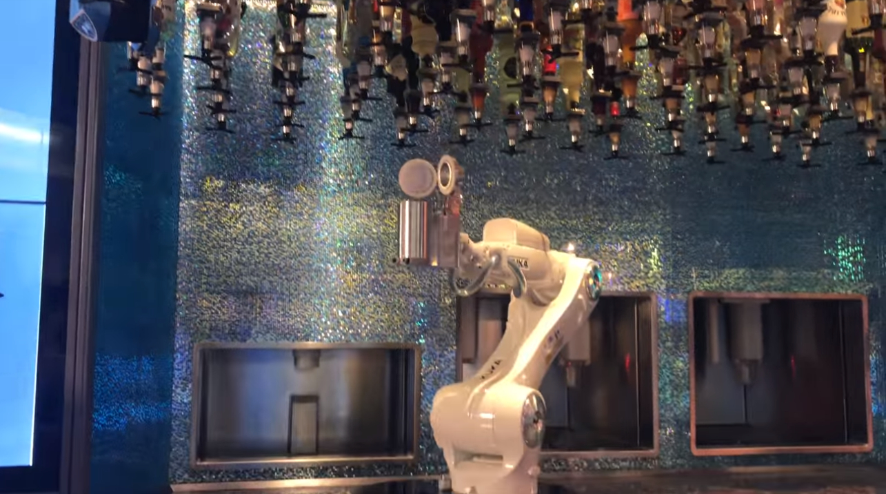 Getting Well Oiled Booze In The Age Of The Robo Barman