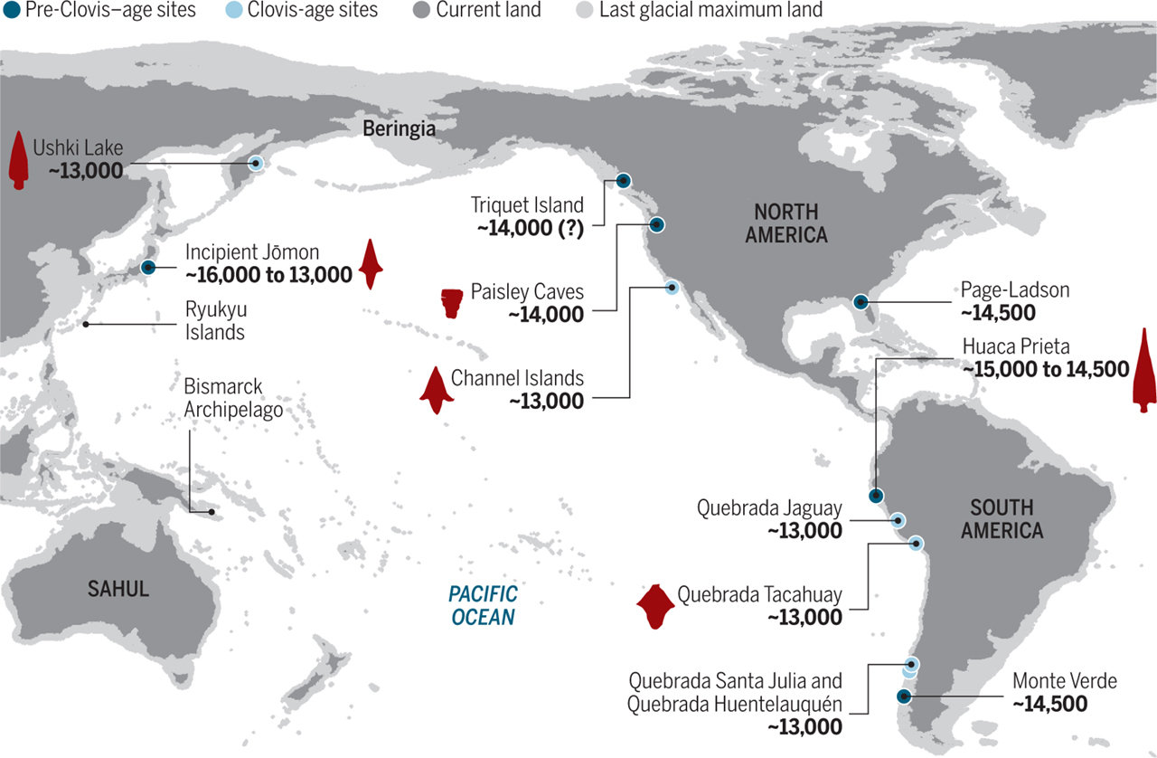 group suggests first humans to the Americas arrived via the kelp highway