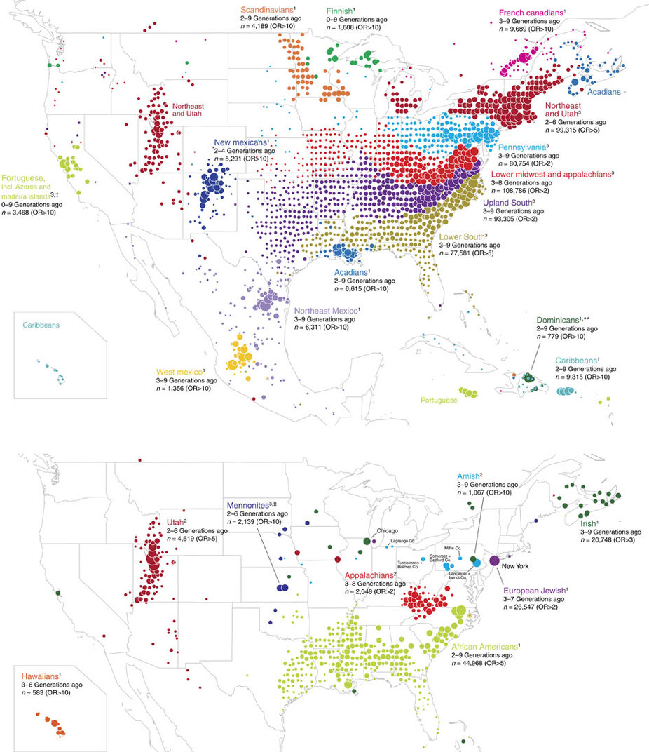Ancestry Dna Map Ancestry.analyses user DNA samples to build migration maps of