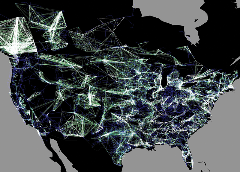 A new way to imagine grid stability network visualization map of the us electric grid credit northwestern university gumiabroncs Gallery