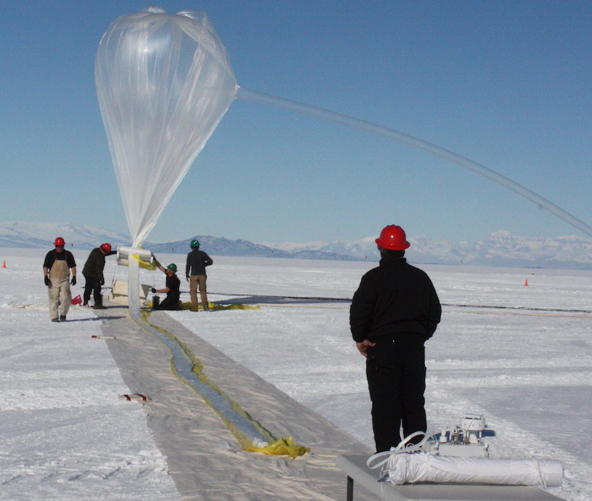 piezoelectric lighter hovering above south pole may help pinpoint