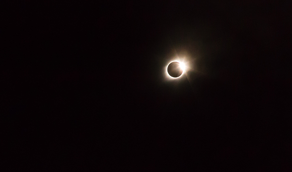 Collecting data unique to a solar eclipse