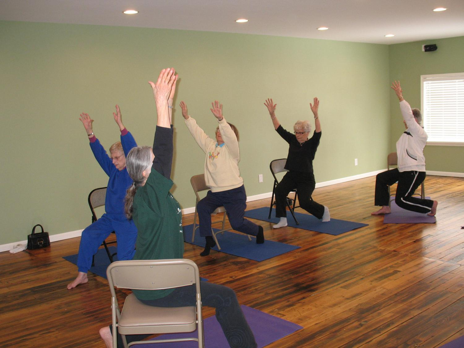 pin poses meditation seniors for best yoga the silent chairs more chair a basic mind