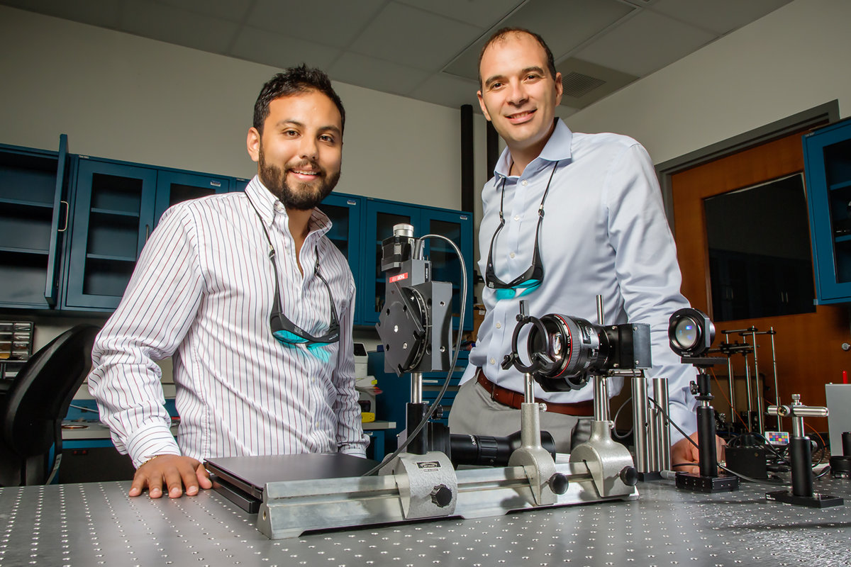 Mantis Shrimp Inspired Camera Enables Glimpse Into Hidden World The Color Which Needs To Be Sensed By Sensor Is Selected