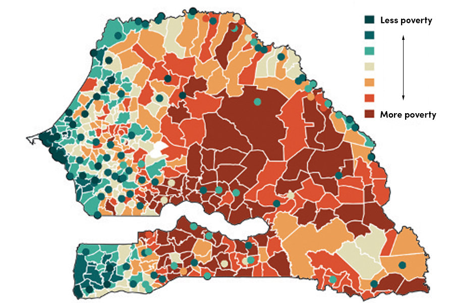 Mapping Technique Can Help Fight Extreme Poverty - Extreme poverty map